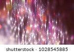 abstract pink bokeh circles.... | Shutterstock . vector #1028545885