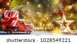 christmas and new year... | Shutterstock . vector #1028549221