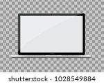 modern ultra thin laptop.... | Shutterstock .eps vector #1028549884