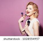 beauty  fashion  cosmetics ...   Shutterstock . vector #1028554957