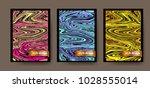 poster vector cover design   Shutterstock .eps vector #1028555014
