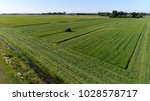 aerial bird view photo farm...   Shutterstock . vector #1028578717