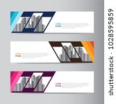 corporate business banner... | Shutterstock .eps vector #1028595859