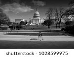 washington d.c   usa  february... | Shutterstock . vector #1028599975