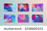original presentation templates.... | Shutterstock .eps vector #1028600101