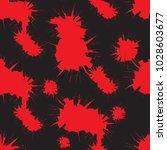 tileable crime bloodshed busted ... | Shutterstock .eps vector #1028603677