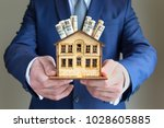 real estate and mortgage... | Shutterstock . vector #1028605885