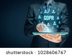 gdpr  general data protection... | Shutterstock . vector #1028606767