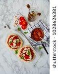 Mini Pizza In Appetizing....