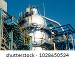 industrial zone the equipment... | Shutterstock . vector #1028650534