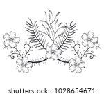 rustic wreath crown icon | Shutterstock .eps vector #1028654671