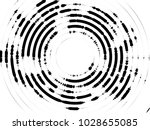 concentric circles halftone... | Shutterstock .eps vector #1028655085