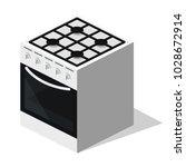 isometric 3d flat illustration... | Shutterstock .eps vector #1028672914