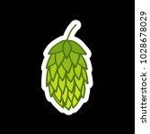 hop doodle icon | Shutterstock .eps vector #1028678029