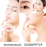 collage of several photos for... | Shutterstock . vector #1028699719