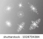 set of vector transparent sun... | Shutterstock .eps vector #1028704384