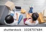 start up small business... | Shutterstock . vector #1028707684