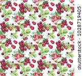 goji berries guarana seamless... | Shutterstock .eps vector #1028719405