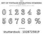 vector set of the retro... | Shutterstock .eps vector #1028725819
