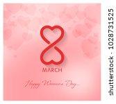 womens day vector illustration | Shutterstock .eps vector #1028731525
