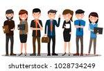 business people teamwork.... | Shutterstock .eps vector #1028734249