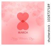 womens day vector illustration | Shutterstock .eps vector #1028737189