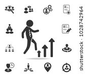 career ladder vector icon. set... | Shutterstock .eps vector #1028742964