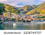 monterosso al mare  old seaside ...   Shutterstock . vector #1028744707