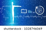 abstract background technology... | Shutterstock .eps vector #1028746069