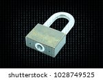Small photo of Cyber security concept, Protection of critical information by access code.