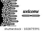 illustration of  stylish ... | Shutterstock .eps vector #102875591