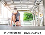 healthy lifestyle sports woman... | Shutterstock . vector #1028803495