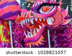 close up of chinese dragon used ... | Shutterstock . vector #1028821057
