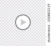 chat video frame. video player... | Shutterstock .eps vector #1028822119