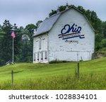 old ohio bicentennial barn | Shutterstock . vector #1028834101