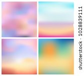 abstract vector multicolored... | Shutterstock .eps vector #1028839111