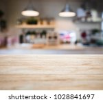 table top wooden counter blur... | Shutterstock . vector #1028841697