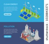 renewable resources and...   Shutterstock .eps vector #1028843371