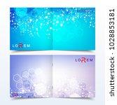 scientific templates square... | Shutterstock .eps vector #1028853181