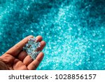 a hand hold or touching plastic ... | Shutterstock . vector #1028856157