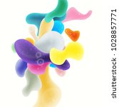 abstract colored background.... | Shutterstock . vector #1028857771