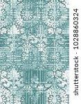 modern  grunge  damask colorful ...   Shutterstock . vector #1028860324