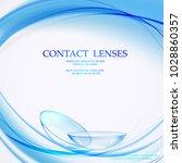 eye lenses for medical...   Shutterstock .eps vector #1028860357