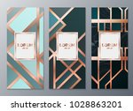 design templates for flyers ... | Shutterstock .eps vector #1028863201