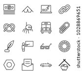 flat vector icon set   money... | Shutterstock .eps vector #1028869651