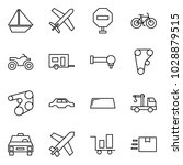 flat vector icon set   sail... | Shutterstock .eps vector #1028879515