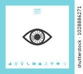 eye symbol icon | Shutterstock .eps vector #1028886271