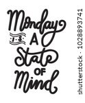 hand lettering monday is a... | Shutterstock .eps vector #1028893741