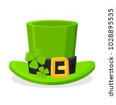 st patrick's day green... | Shutterstock .eps vector #1028895535