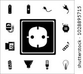 electric outlet icon. set of... | Shutterstock .eps vector #1028895715